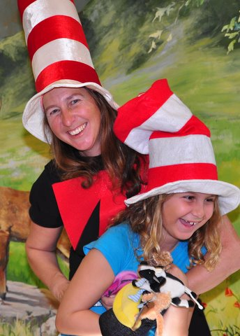 Bailey and The Cat in The Hat
